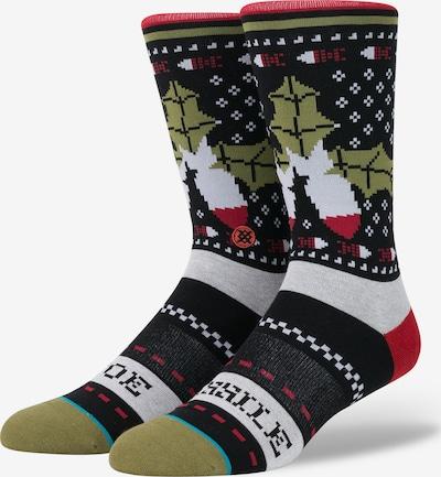 Stance Socke 'Missle Toe' in mischfarben / schwarz, Produktansicht