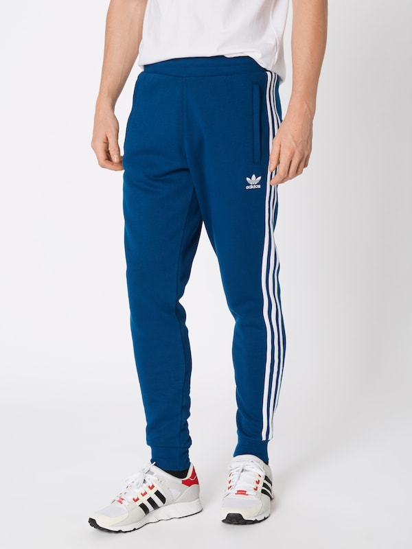 '3 Adidas En BleuBlanc Originals Pantalon stripes' OkuPXiTZ