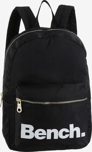 BENCH Rucksack in schwarz / weiß, Produktansicht