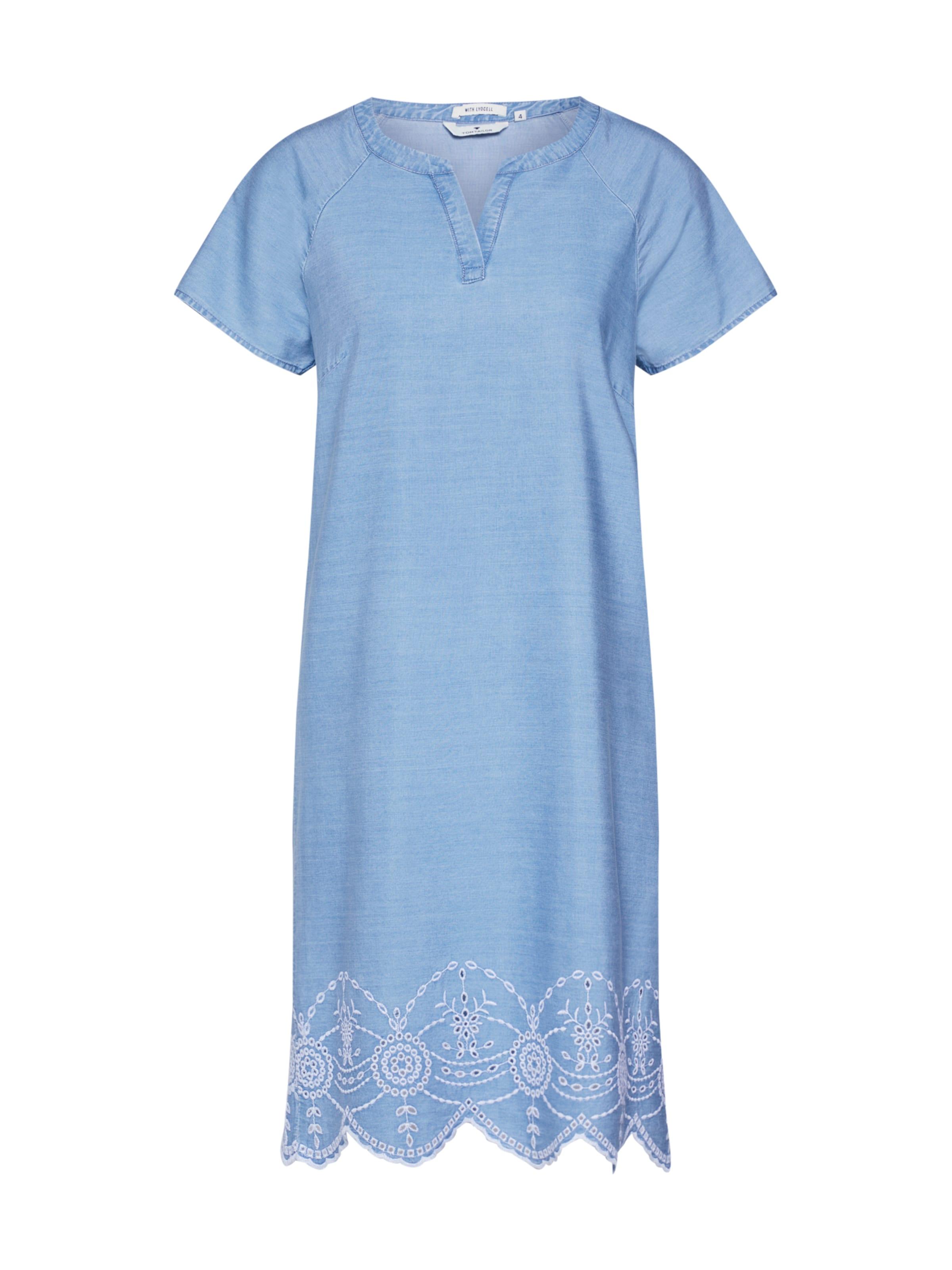 Bleu Robe En Denim Tom Tailor CdxeBo