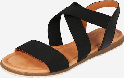 Apple of Eden Sandalen 'BETA' in schwarz, Produktansicht