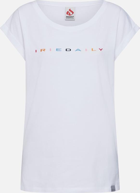 T 'iriecolor Tee' CouleursBlanc shirt De En Iriedaily Mélange dCoeQxWrBE