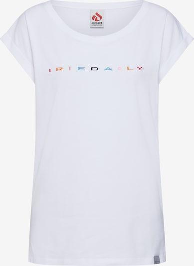 Iriedaily Shirt 'Iriecolor Tee' in mischfarben / weiß, Produktansicht