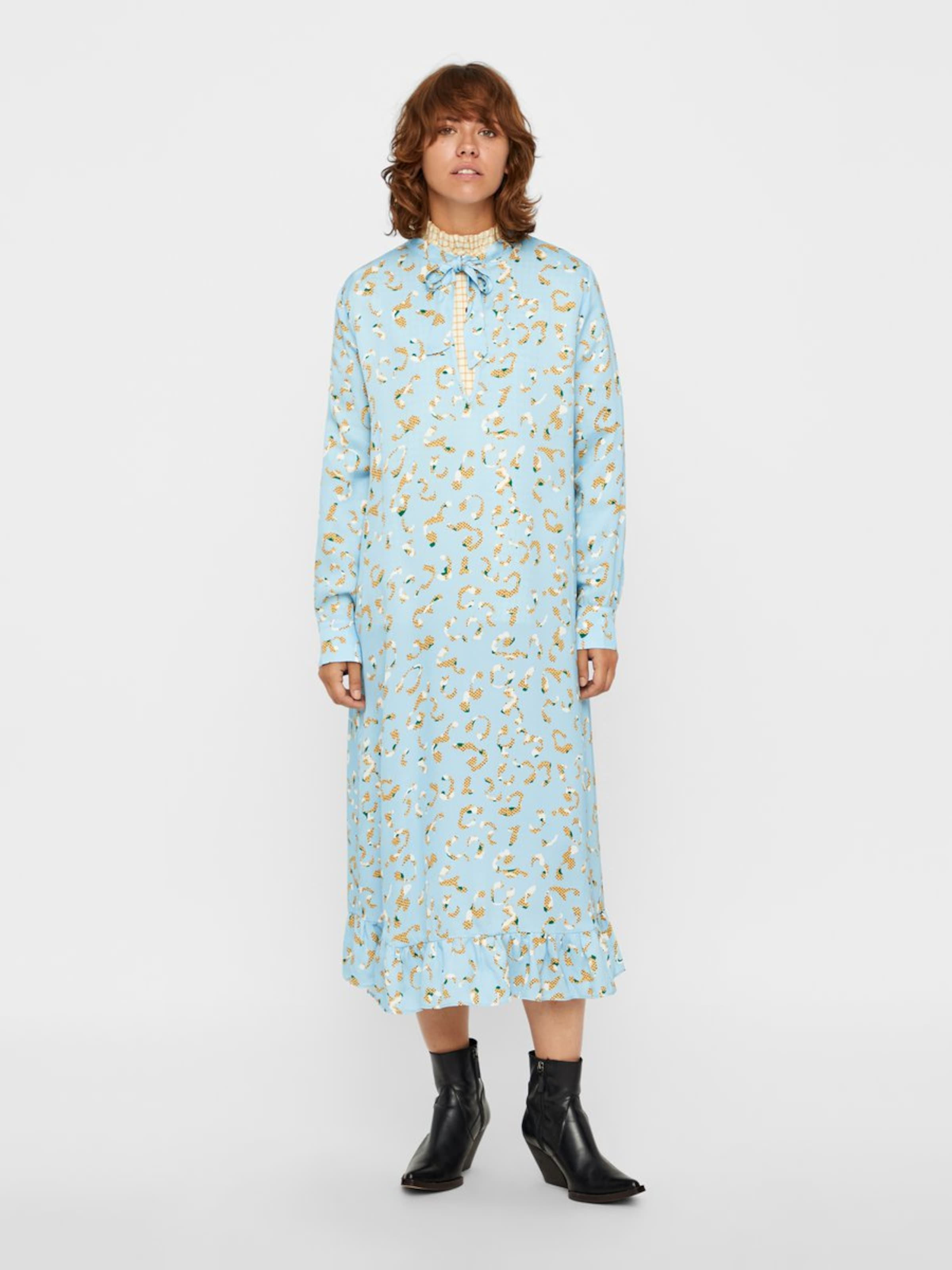 Kleid HellblauGelb Postyr In Weiß In Postyr Kleid 35ARqc4jLS