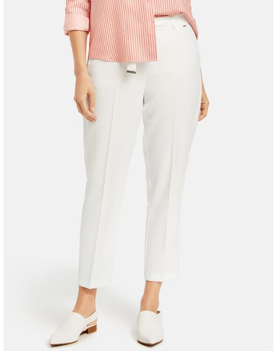 TAIFUN Hose in weiß, Modelansicht