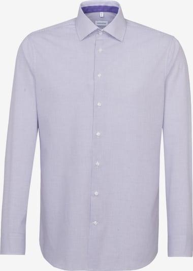 SEIDENSTICKER Business Hemd ' Shaped ' in lila / weiß, Produktansicht