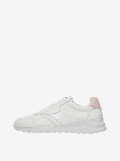 Bianco Sneaker in altrosa / weiß: Frontalansicht