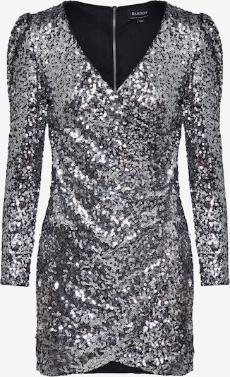 Bardot Kleid 'SEQUIN SPARKLE DRESS' in silber, Produktansicht
