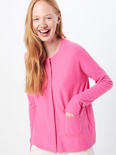 Geacă tricotată 'Henni' LIEBLINGSSTÜCK pe roz: Privire frontală