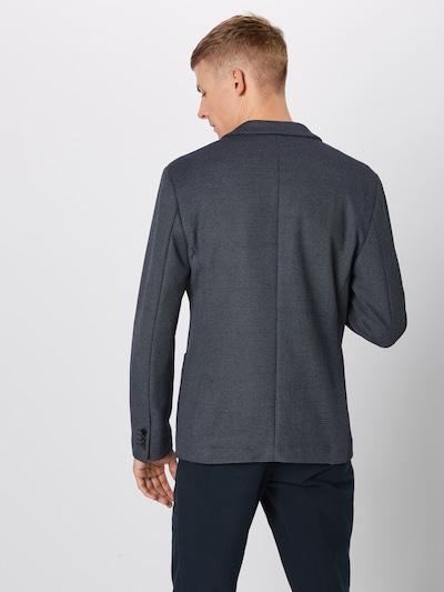 SELECTED HOMME Veste de costume en bleu marine / blanc: Vue de dos