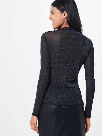 Marškinėliai 'VILULA' iš VILA , spalva - juoda: Vaizdas iš galinės pusės
