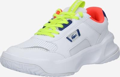 LACOSTE Sneaker 'Ace Lift' in neongelb / neonorange / weiß, Produktansicht