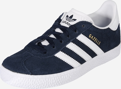 ADIDAS ORIGINALS Sneakers 'GAZELLE' in de kleur Navy / Wit, Productweergave