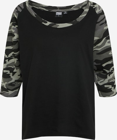 Urban Classics Shirt in grün / schwarz, Produktansicht