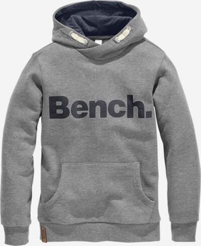 BENCH Kapuzensweatshirt in graumeliert, Produktansicht