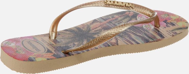 Haltbare Mode billige Schuhe HAVAIANAS | Zehensandalen 'SLIM TROPICAL' TROPICAL' TROPICAL' Schuhe Gut getragene Schuhe a67029