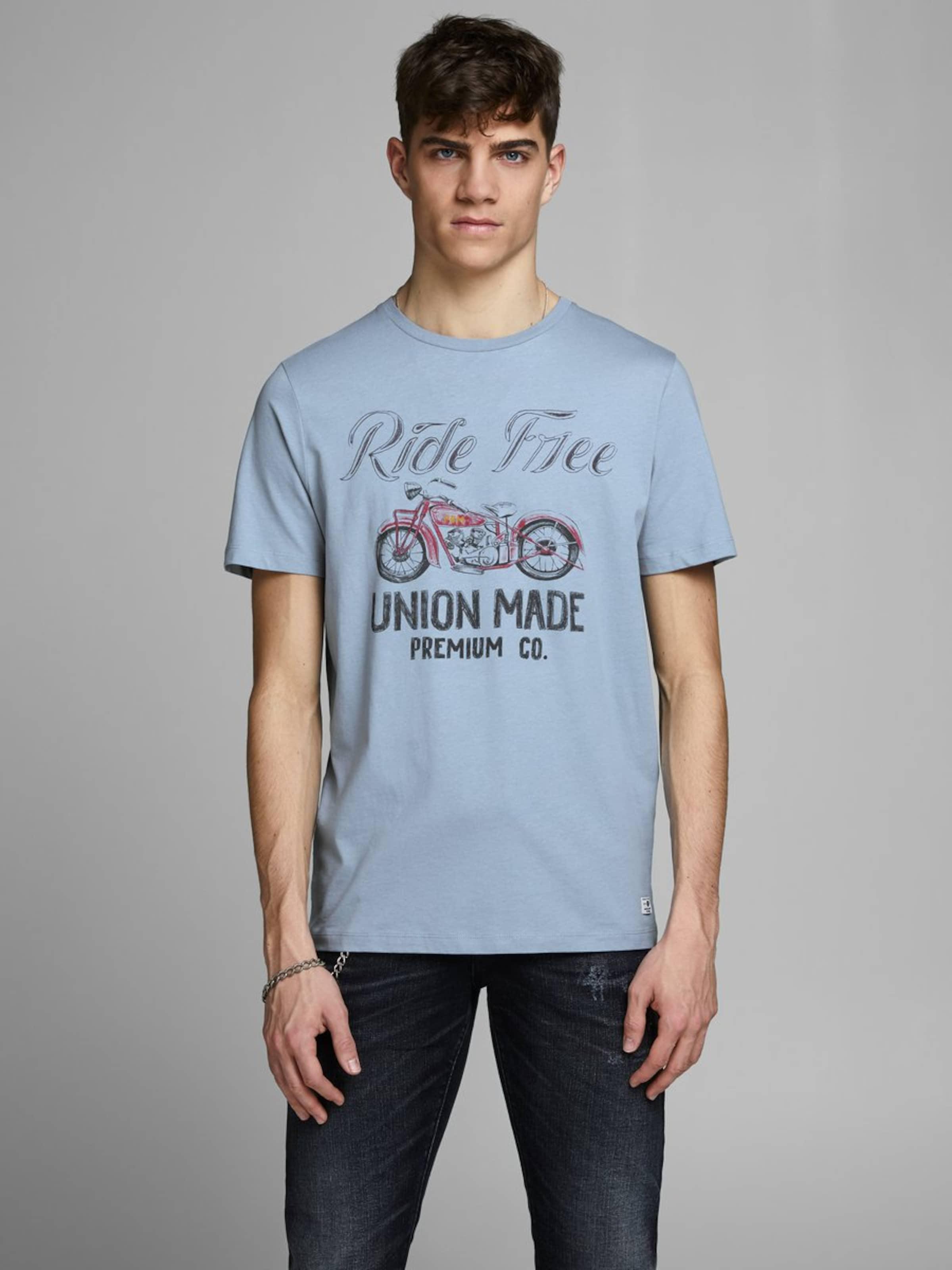 In shirt Rauchblau Jones T Jackamp; eEYDHW29I