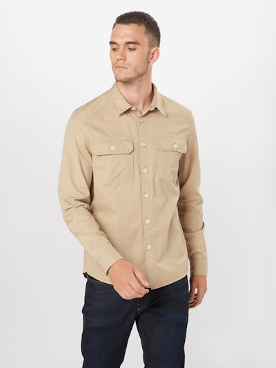 DRYKORN Koszula w kolorze beżowym: Widok z przodu