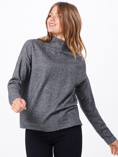OPUS Pullover 'Gukine' in grau / weiß, Modelansicht