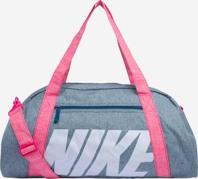 NIKE Sports bag 'GYM CLUB' in blue / raspberry, Item view