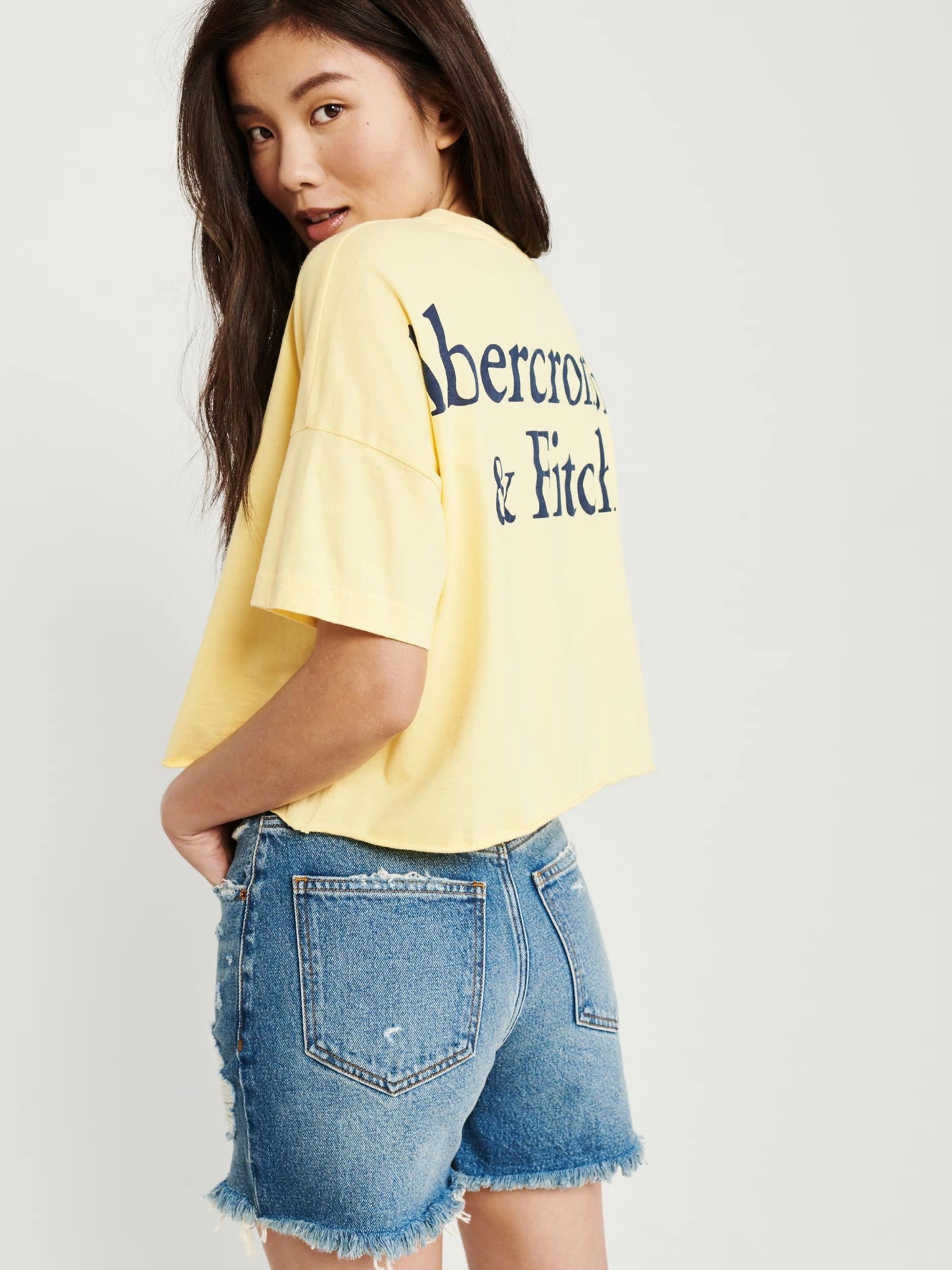 Tee' En Jaune T Logo 'sb19 Fitch shirt Drop ss Abercrombieamp; Shoulder 0k8PnXwO