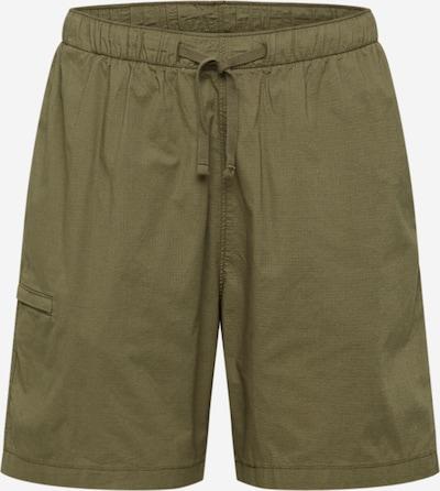 LEVI'S Hose  'WALK SHORT' in braun / dunkelgrün, Produktansicht