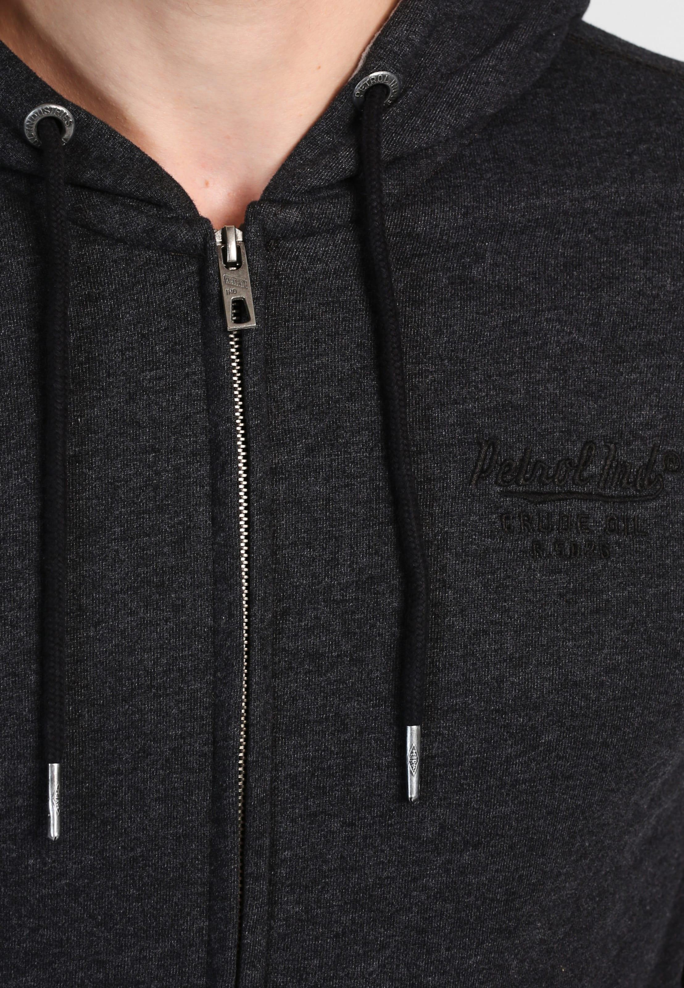 Freies Verschiffen Manchester Großer Verkauf Sast Zum Verkauf Petrol Industries Sweatshirtjacke Online-Bilder Verkauf Rabatt-Spielraum Store 33uogwg