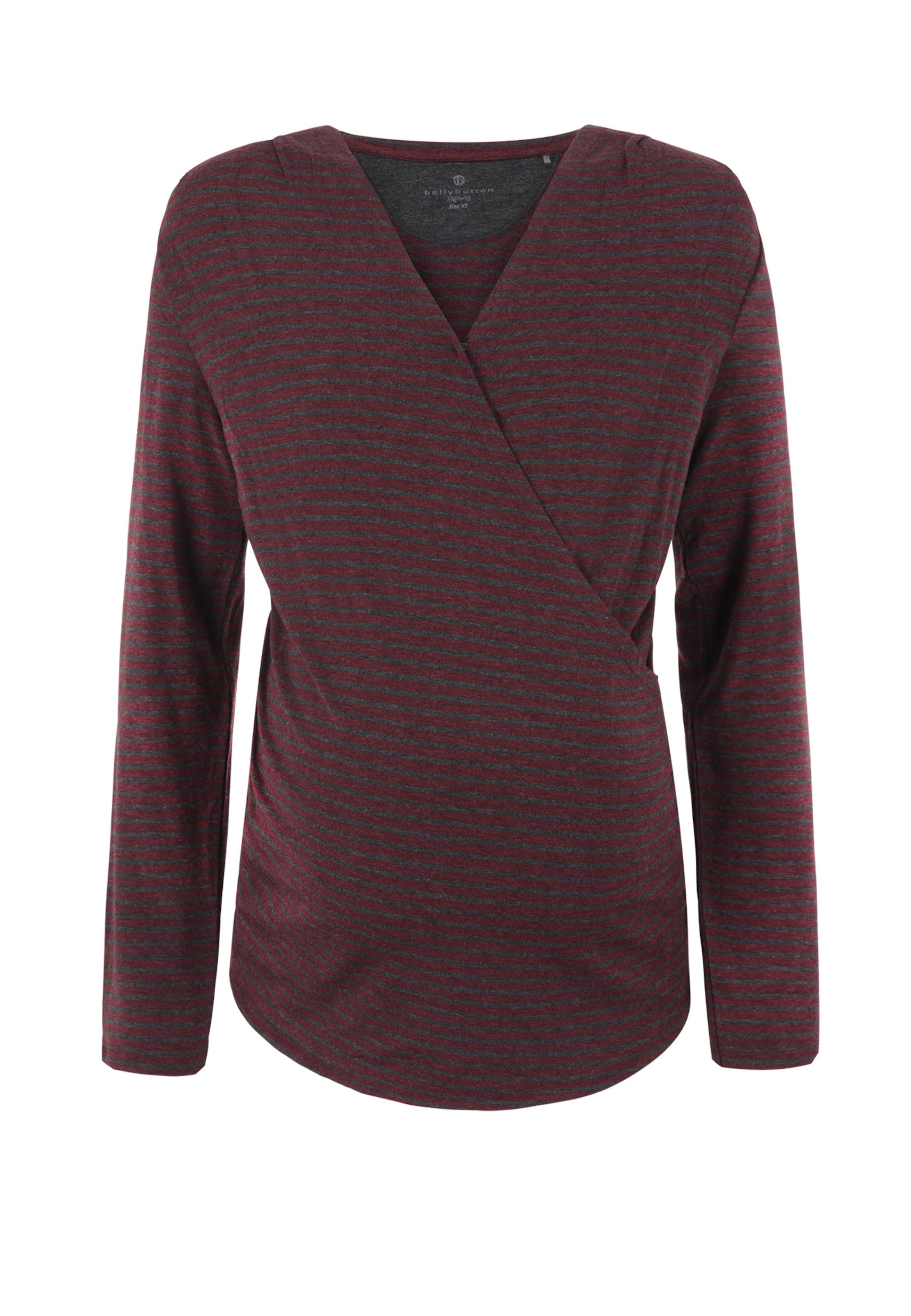 Bellybutton Shirt DunkelgrauWeinrot Shirt In Bellybutton In BdxerCoW