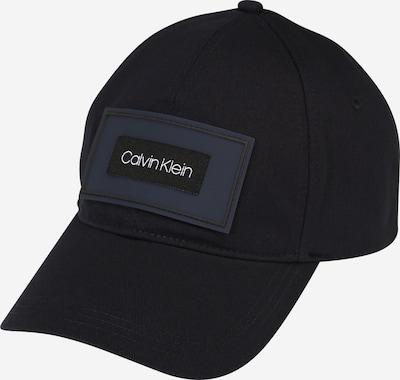 Calvin Klein Cap in nachtblau / dunkelblau / weiß, Produktansicht