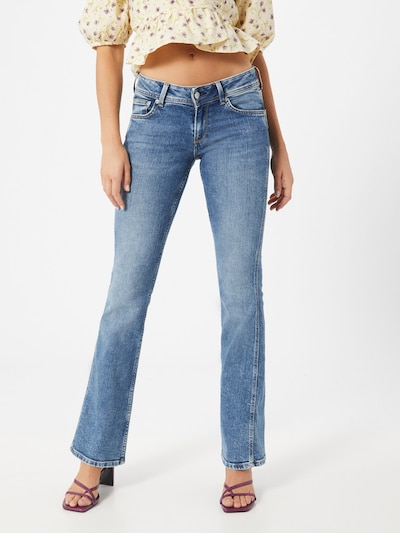 Pepe Jeans Jeans 'New Pimlico' in blue denim, Modelansicht