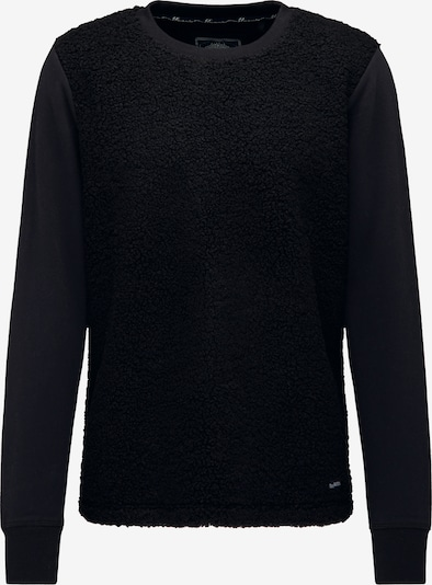 DREIMASTER Sweat-shirt en noir: Vue de face