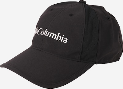 COLUMBIA Cap 'Peak to Point' in schwarz / weiß, Produktansicht