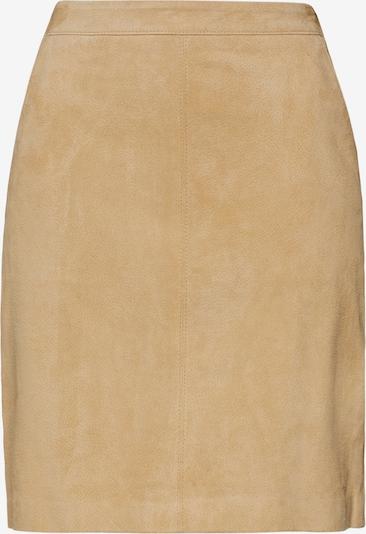 EDITED Spódnica 'Meja' w kolorze piaskowym: Widok z przodu