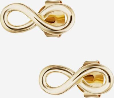 caï Ohrstecker 'Infinity C7374E/90/00' in gold, Produktansicht