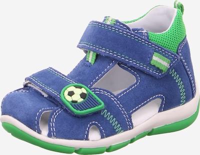 SUPERFIT Otvorená obuv 'Freddy' - modré / zelená, Produkt