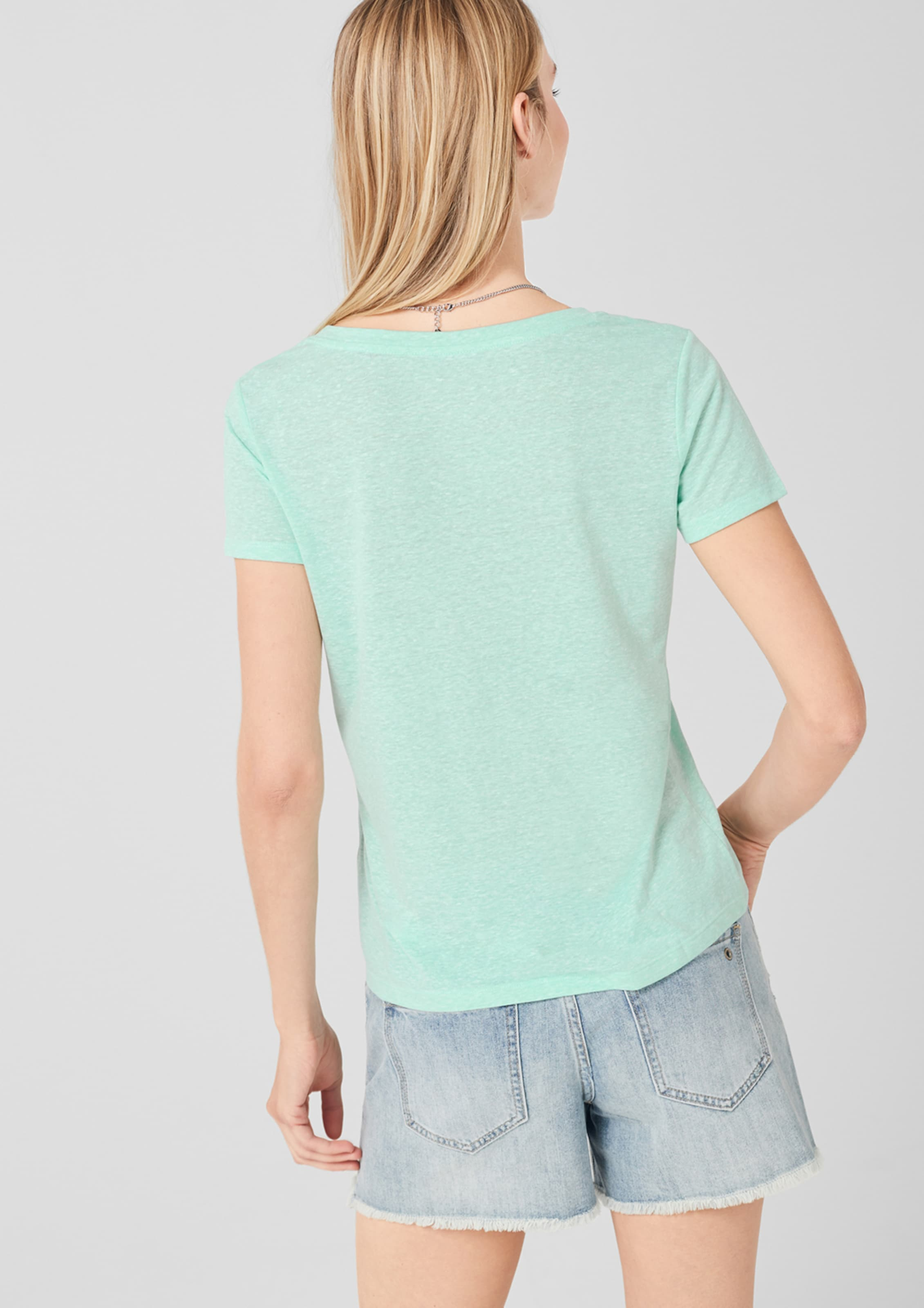 S oliver Shirt In Shirt oliver Mint S S Mint In Ok8X0wnZNP