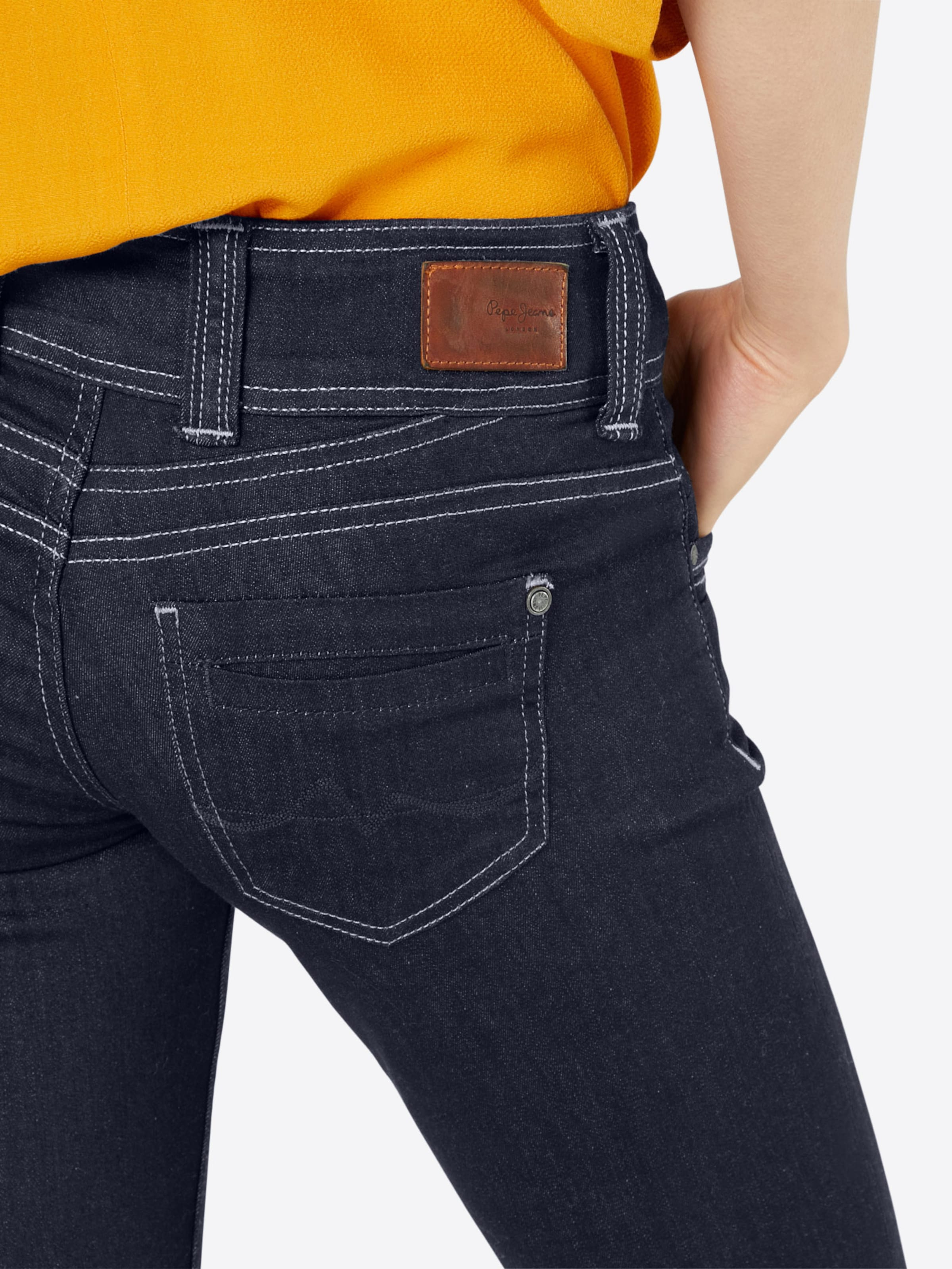 Bleu Foncé Jeans Jean En Pepe 'gen' 0wmNn8