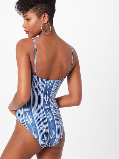 RIP CURL Badeanzug in blau / weiß: Rückansicht