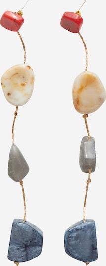 EDITED Boucles d'oreilles 'Fabihne' en or / mélange de couleurs, Vue avec produit