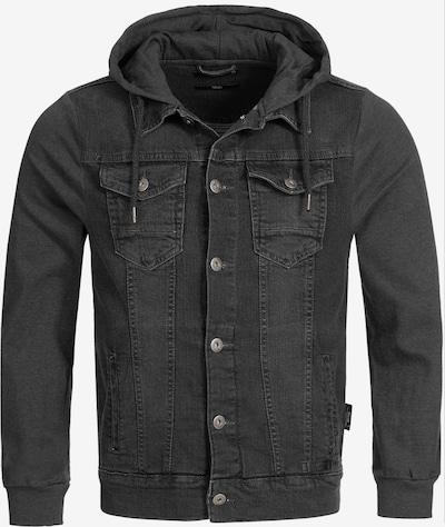 INDICODE JEANS Tussenjas 'Boscobel' in de kleur Black denim, Productweergave