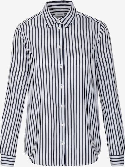 SEIDENSTICKER Bluse in navy / weiß, Produktansicht