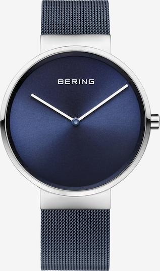 BERING Uhr in dunkelblau / silber, Produktansicht