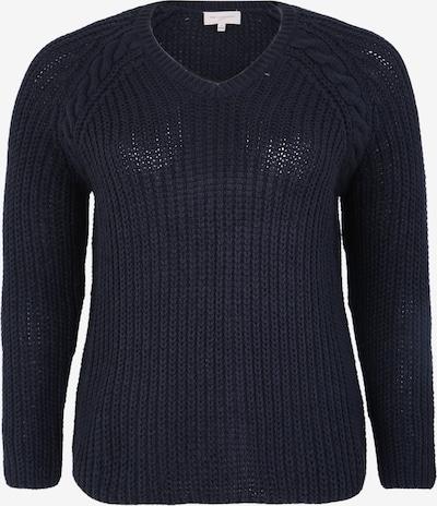 ONLY Carmakoma Sweter w kolorze niebieska nocm, Podgląd produktu