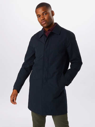 BURTON MENSWEAR LONDON Between-seasons coat 'MAC INET' in navy, View model