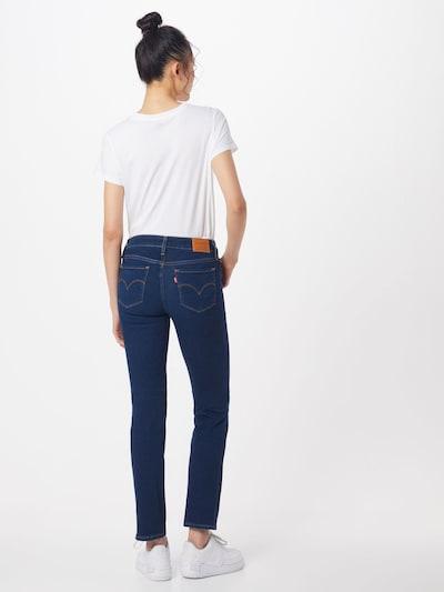 LEVI'S Jeansy '712' w kolorze ciemny niebieskim: Widok od tyłu