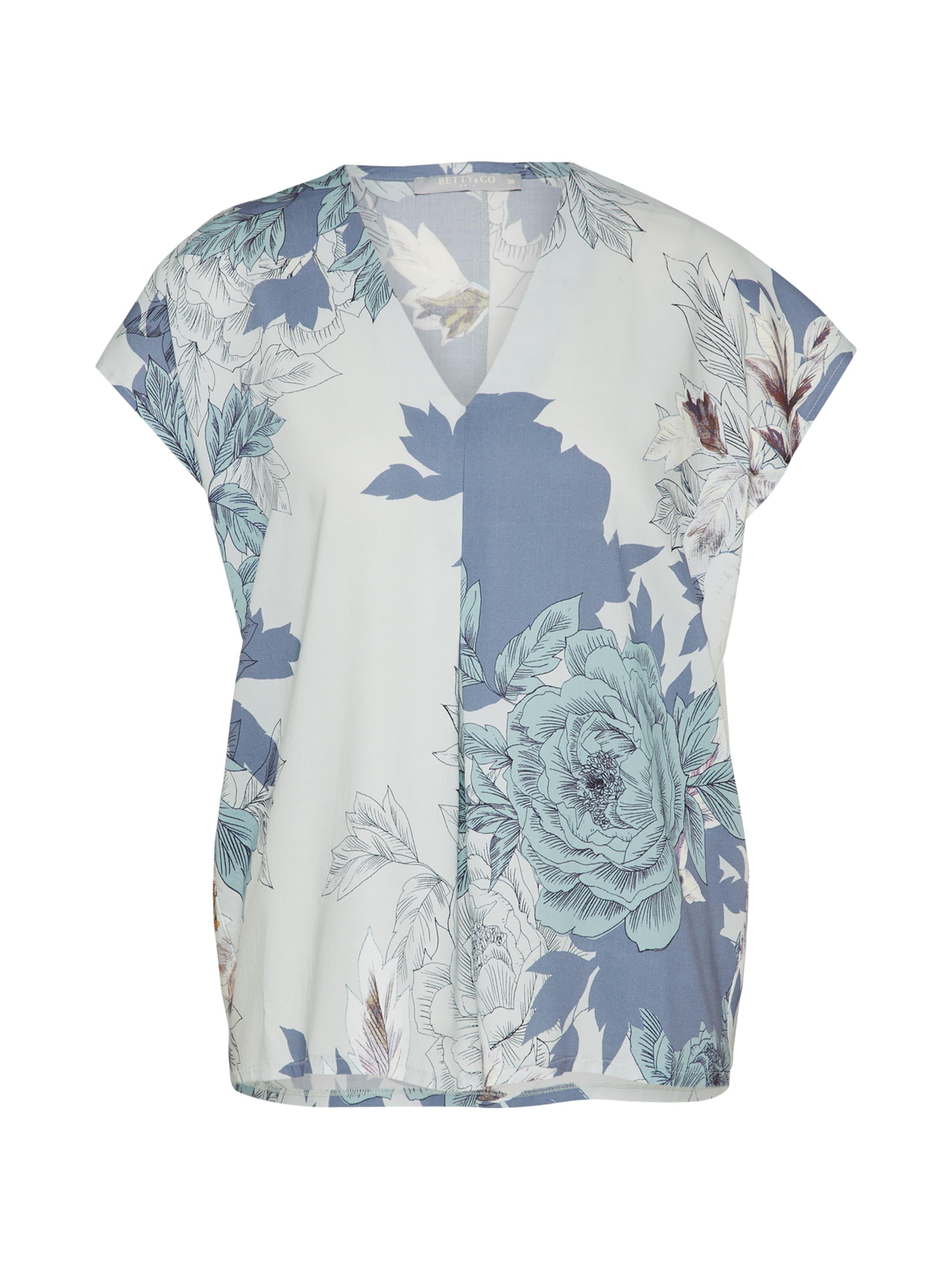 Muster Mit Floralem Bettyamp; In Co Bluse Mischfarben cAL5Rj3q4