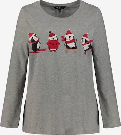 Ulla Popken T-shirt 'CLASSIC' en gris foncé, Vue avec produit