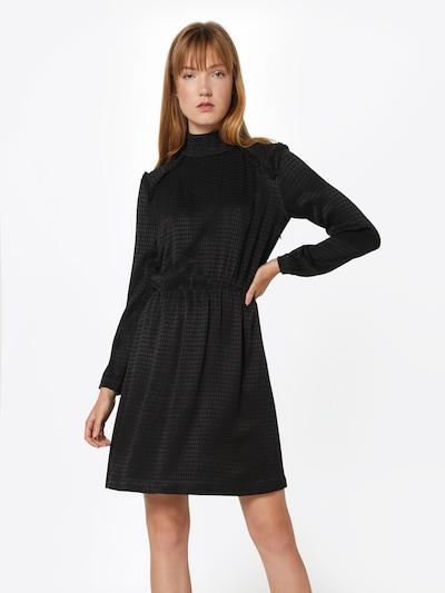 POSTYR Kleid 'POSHASSEL DRESS' in schwarz: Frontalansicht