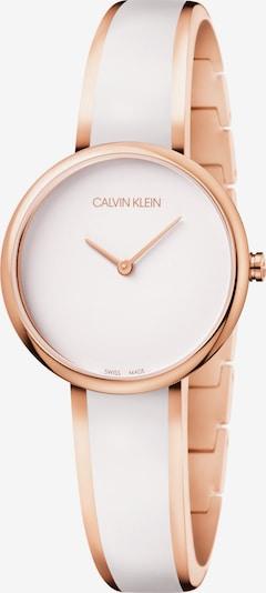 Calvin Klein Analoog horloge in de kleur Rose-goud / Wit, Productweergave