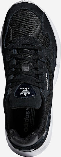 ADIDAS ORIGINALS Sneaker 'FALCON' in schwarz: Draufsicht